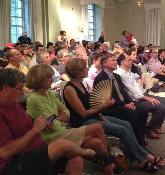 Packed House at Richmond's BMP Public Meeting