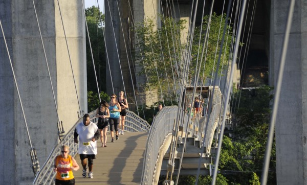 Belle Isle Footbridge Runners