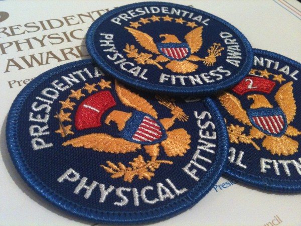 Seal of the Presidential Fitness Award