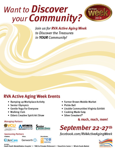 2014 Active Aging Week Events
