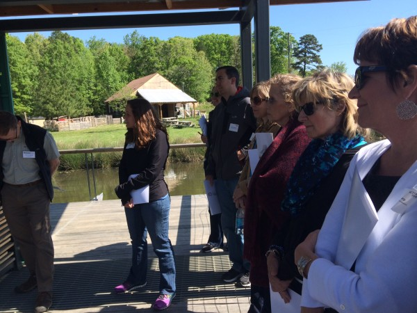 Foundation, government, nonprofit, and business leaders had a sunny day to explore Durham's experiments and successes in active living infrastructure.
