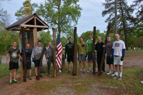 F3 group with logs